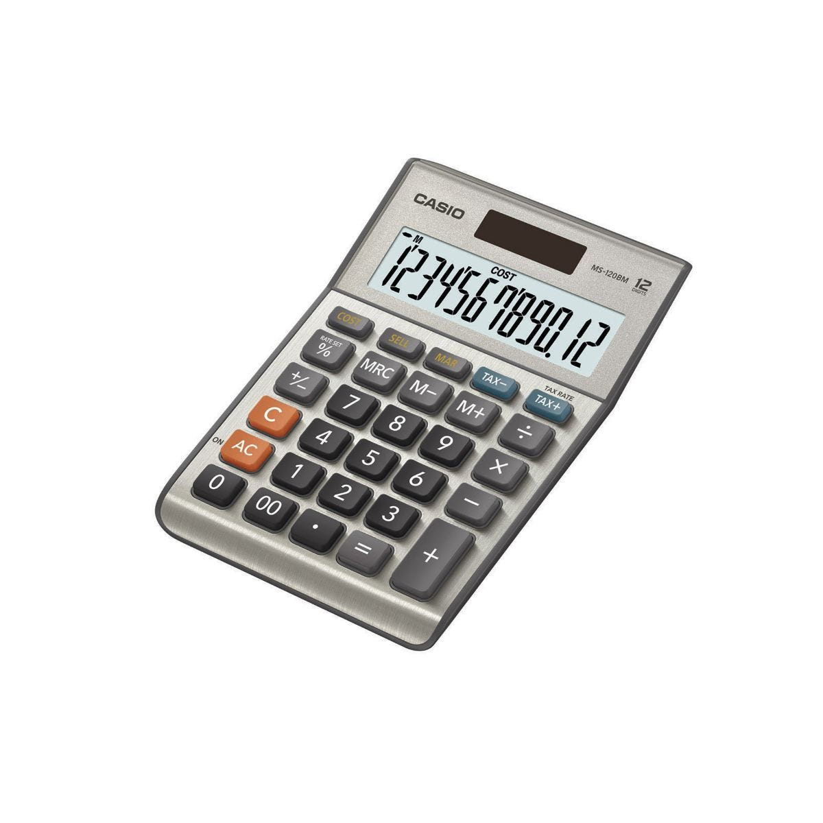 Click to view product details and reviews for Casio Ms 120bm Semi Desktop Calculator.