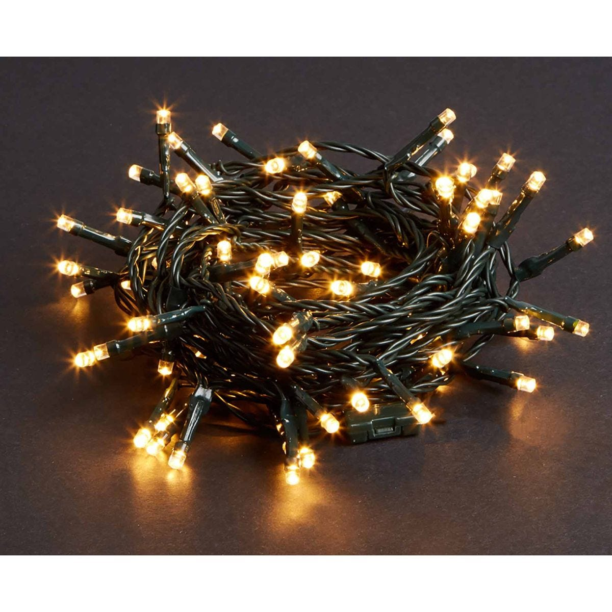 Image of 200 LED String Lights Mains Operated Warm White, White