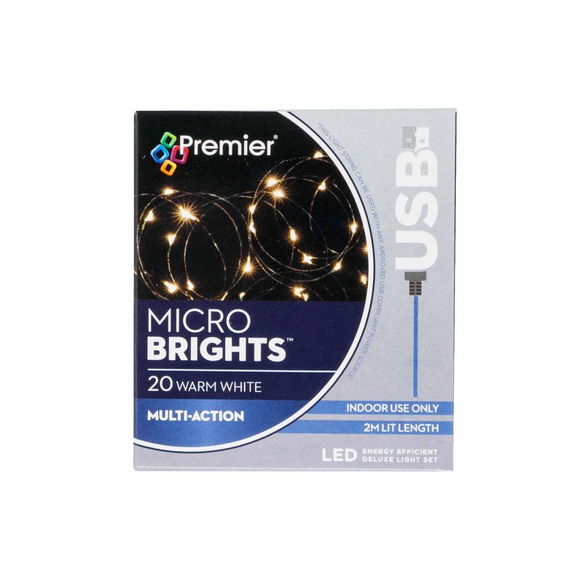 Compare prices for 20 USB Christmas Lights Warm White, Warm White