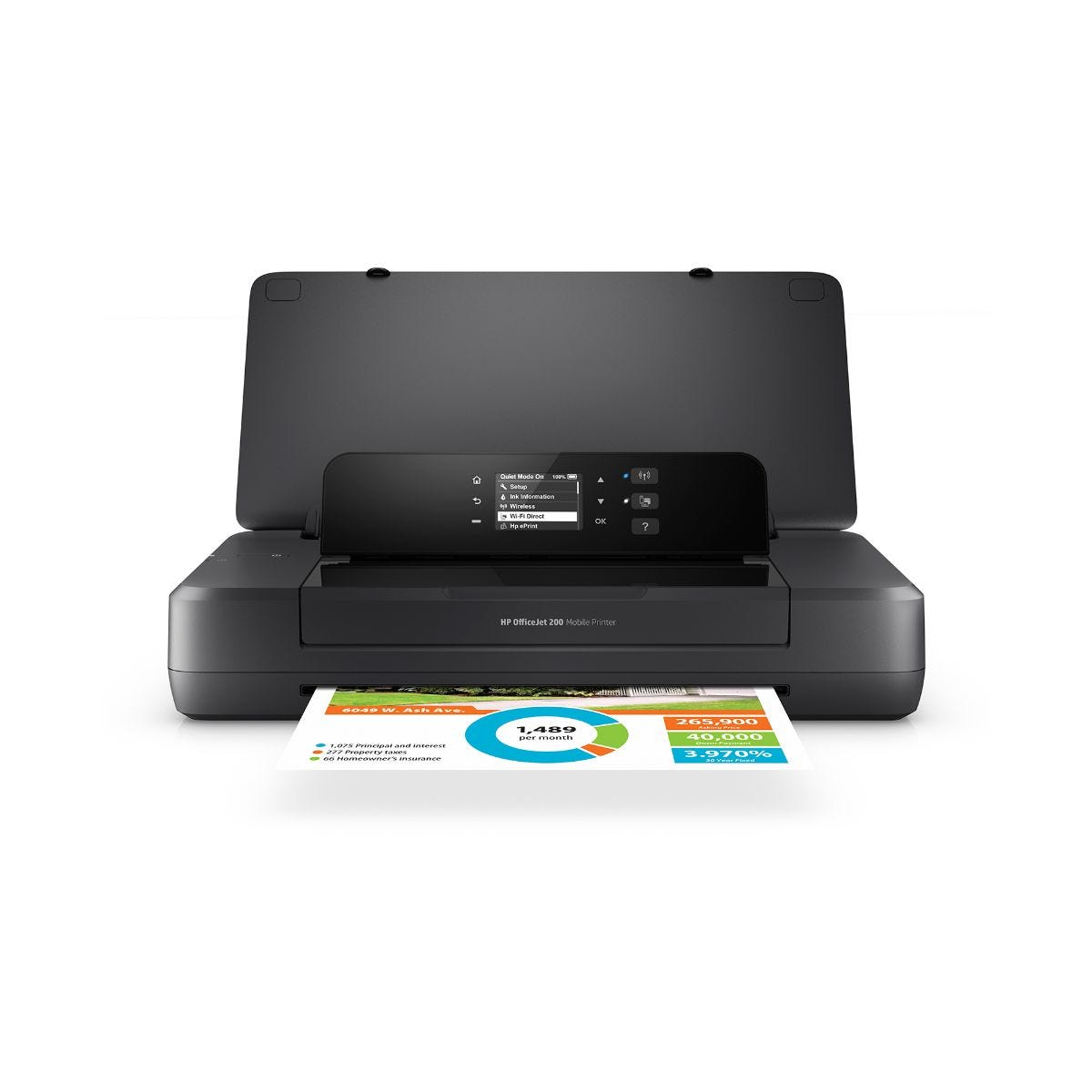 Image of HP OfficeJet 200 Mobile Printer