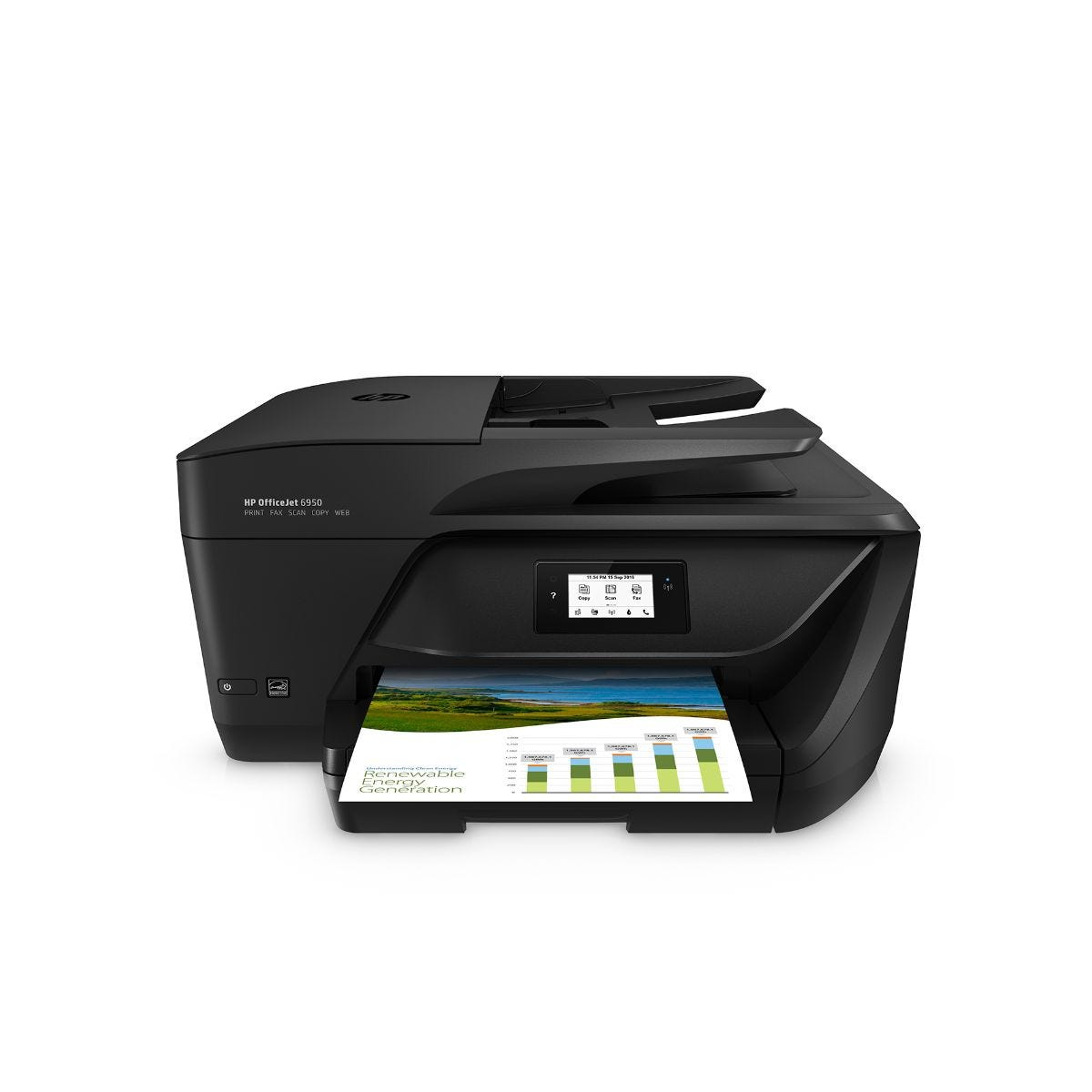 Image of HP OfficeJet 6950 All In One Printer, 600 x 1200DPI