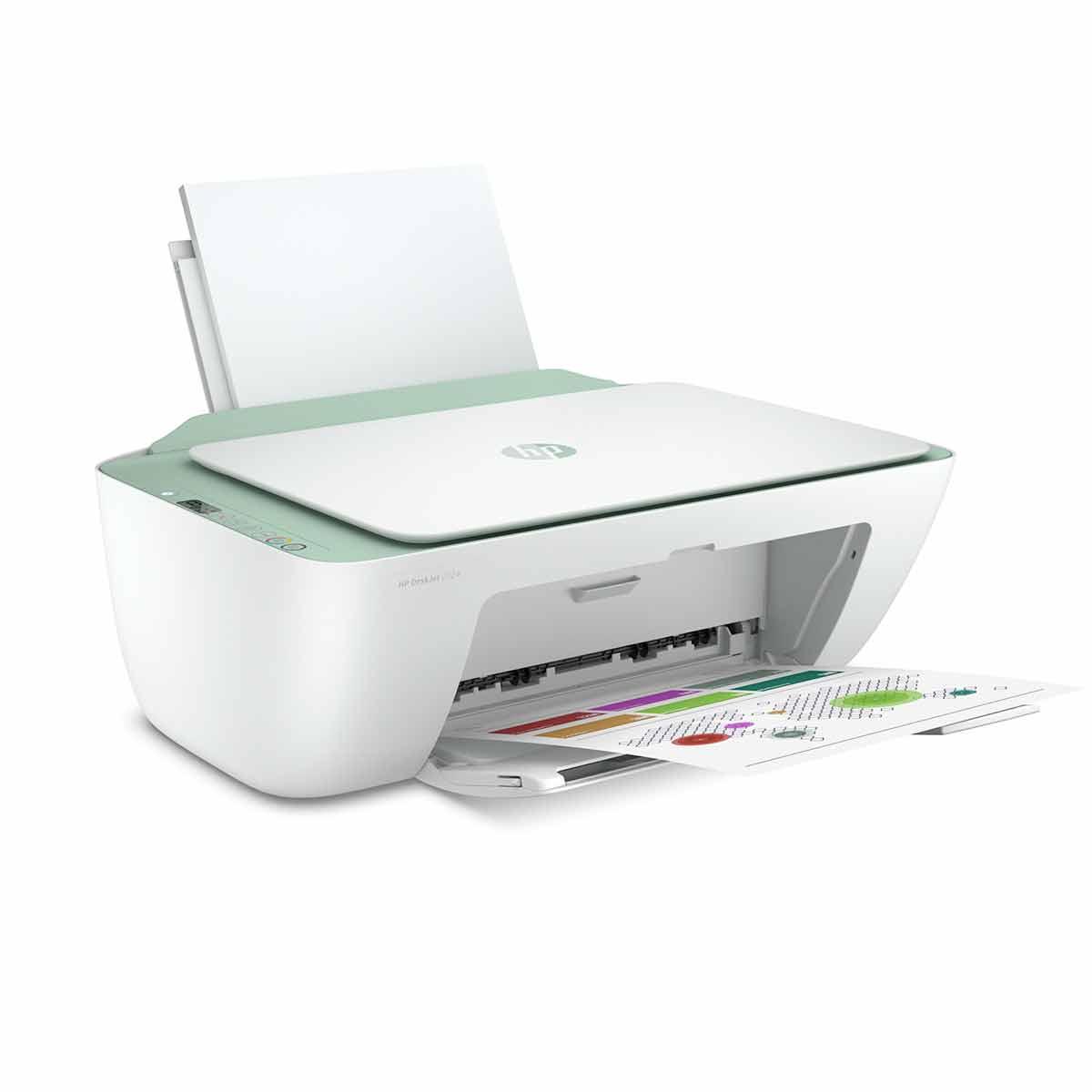 HP Deskjet 2724 Inkjet Printer - White