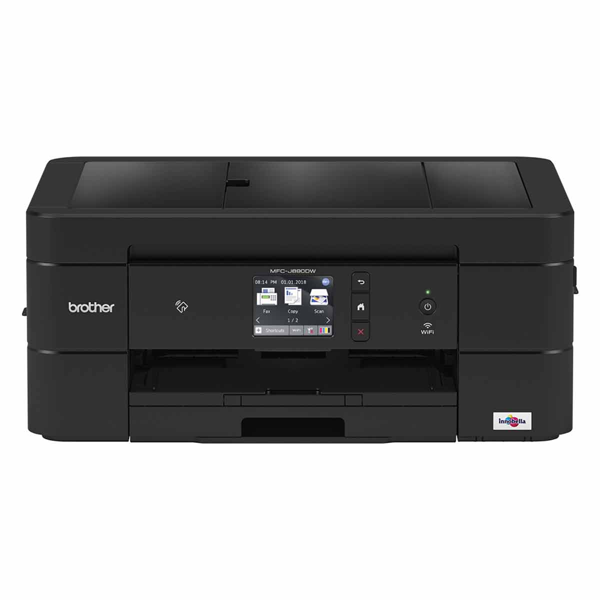 Image of Brother MFCJ890DW All in One Wireless Printer, Black
