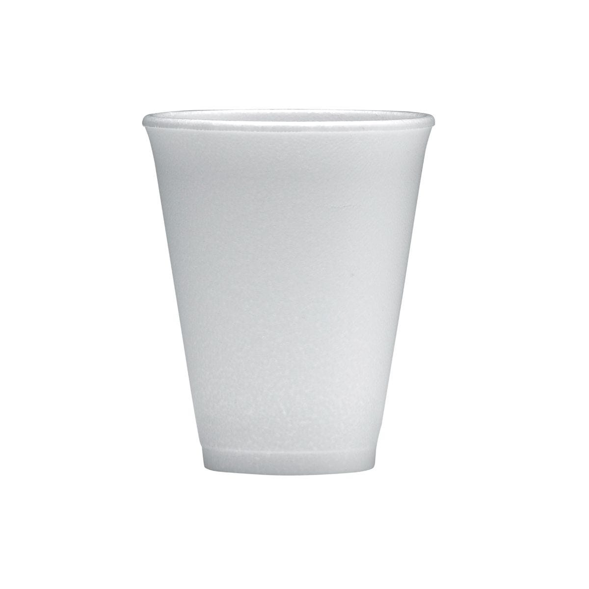 Image of 10oz Polystyrene Cups Pack 1000, White
