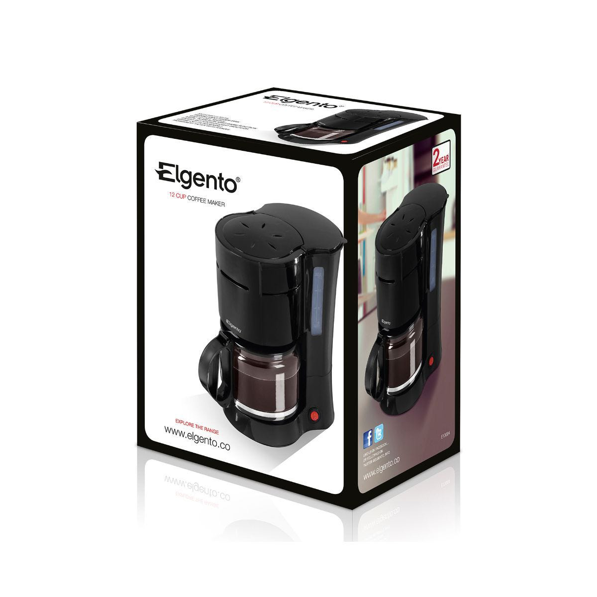 Image of Elgento 12 Cup Coffee Maker