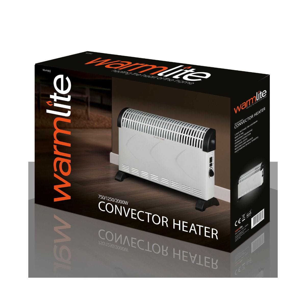 Image of 2000W Convection Heater