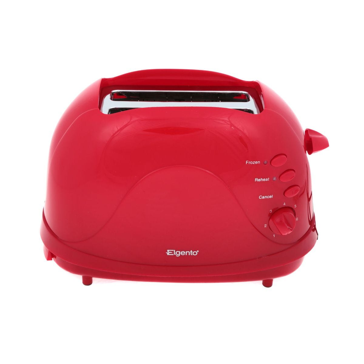 Elgento 2 Slice Toaster, Red