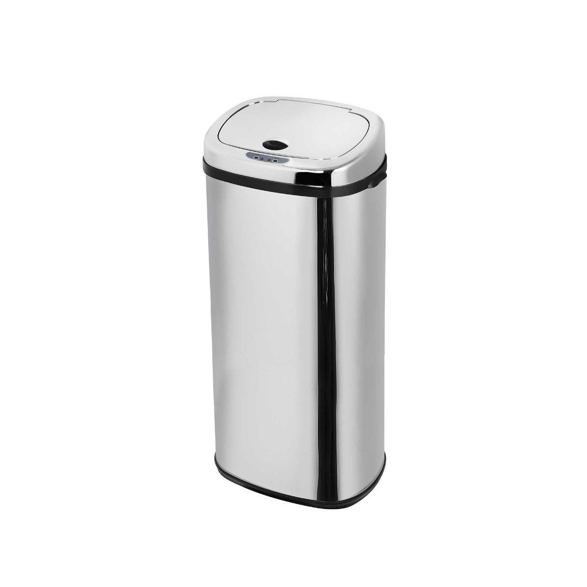 Morphy Richards Chroma Sensor Bin 50 Litre Square, Silver.