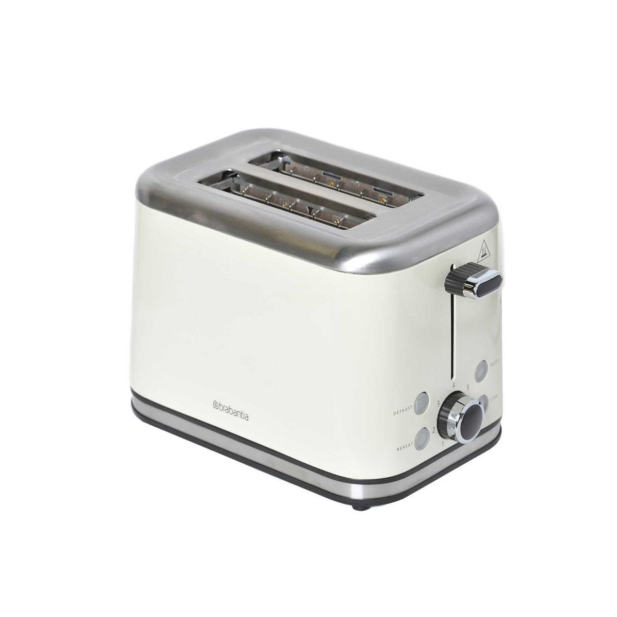 Igenix 2 Slice Toaster Almond Brushed Stainless Steel