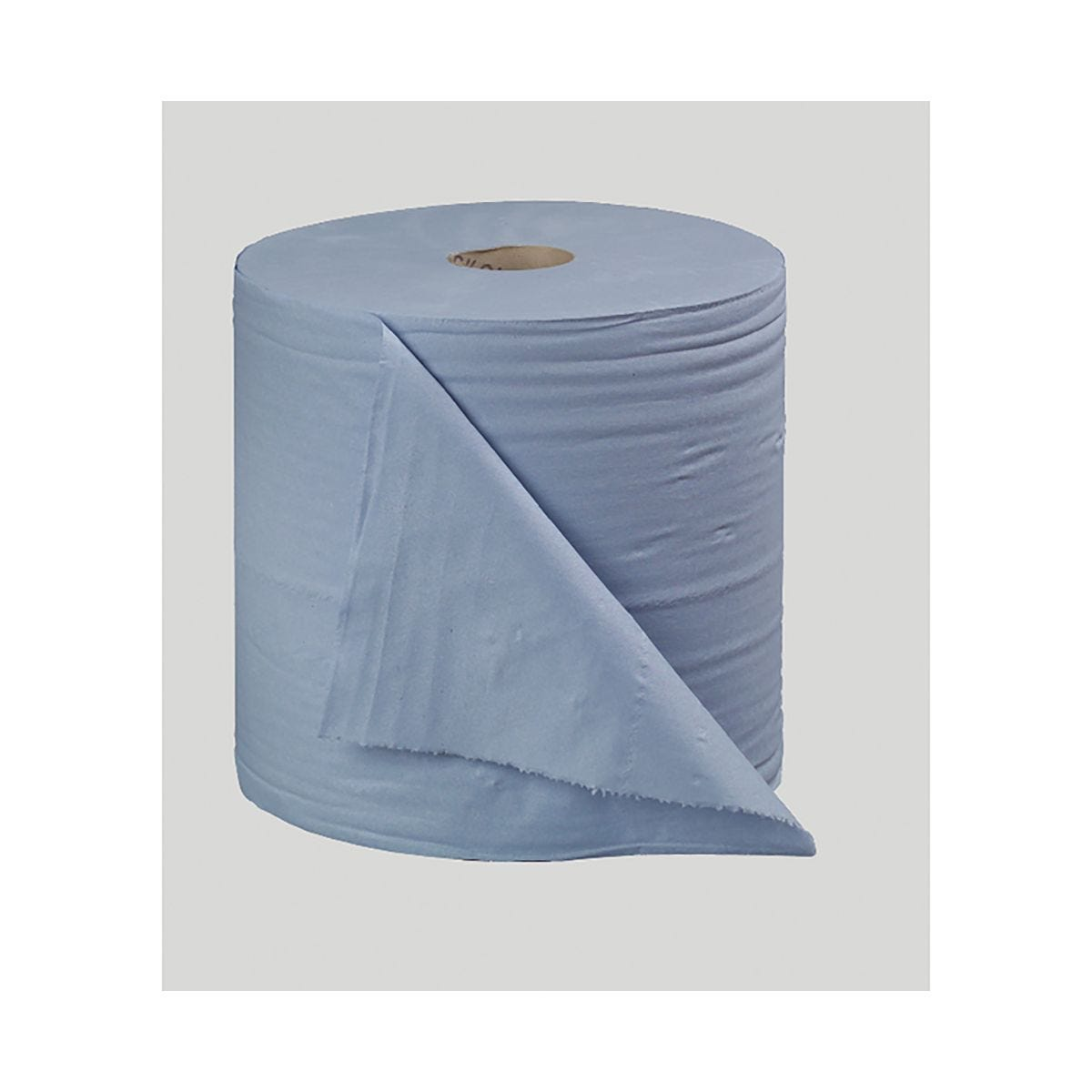 Image of 2Work Blue Bumper 2-Ply Paper Roll 270mm x 400m Pack of 2