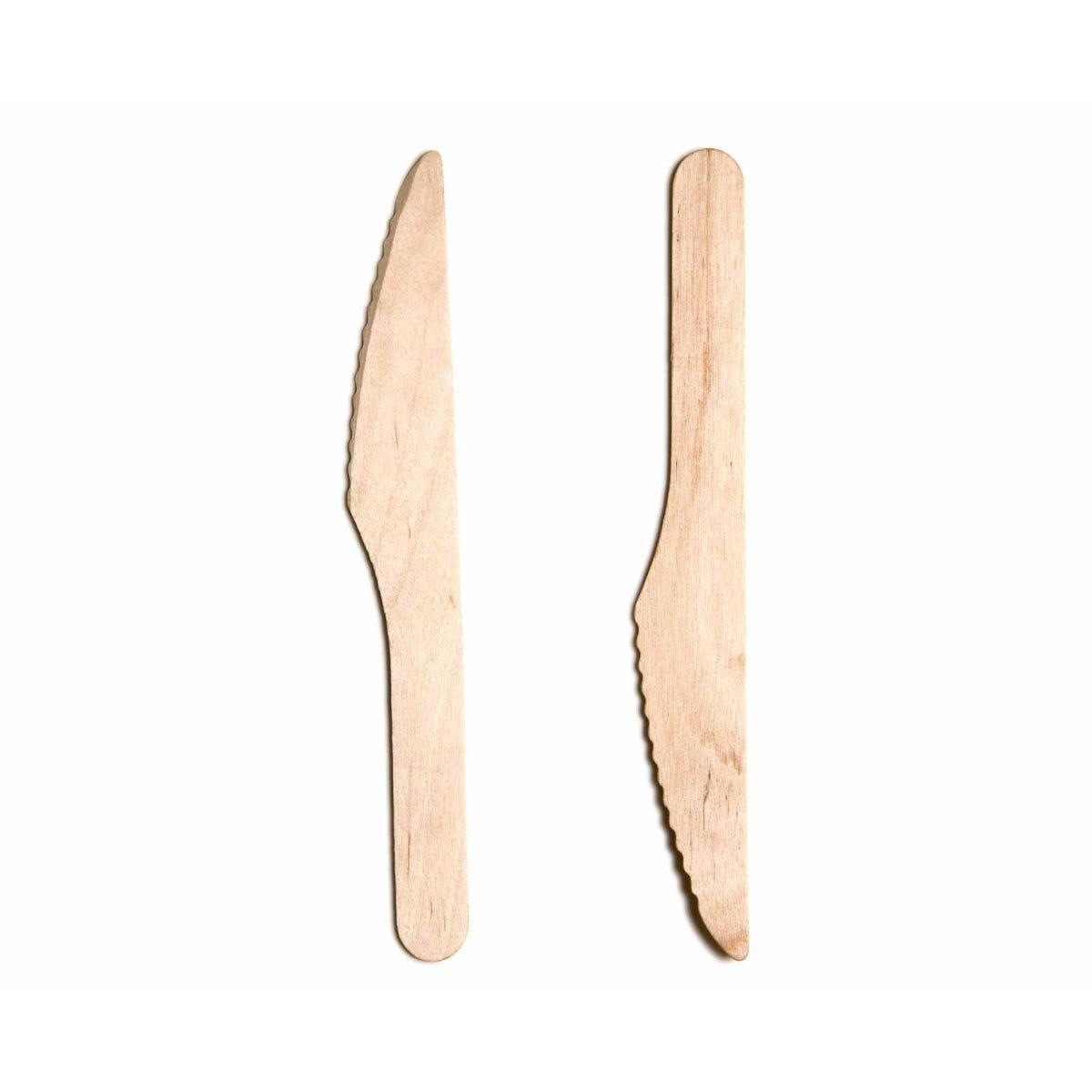 Birchwood Wooden Knife Pack of 100