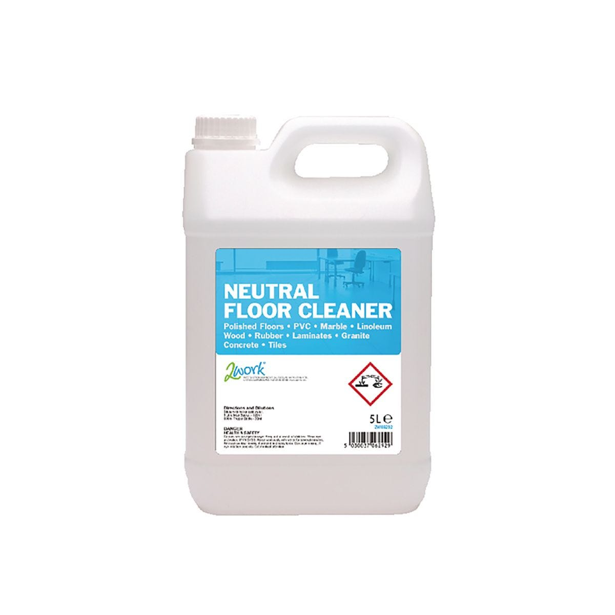Image of 2Work Neutral Floor Cleaner 5 Litre