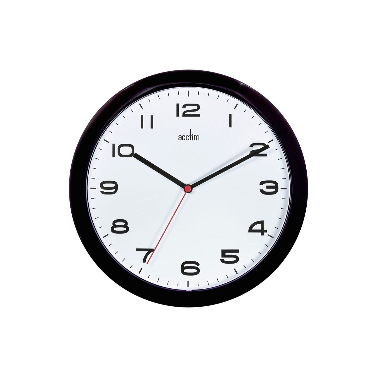 Image of Acctim Aylesbury Wall Clock, Black