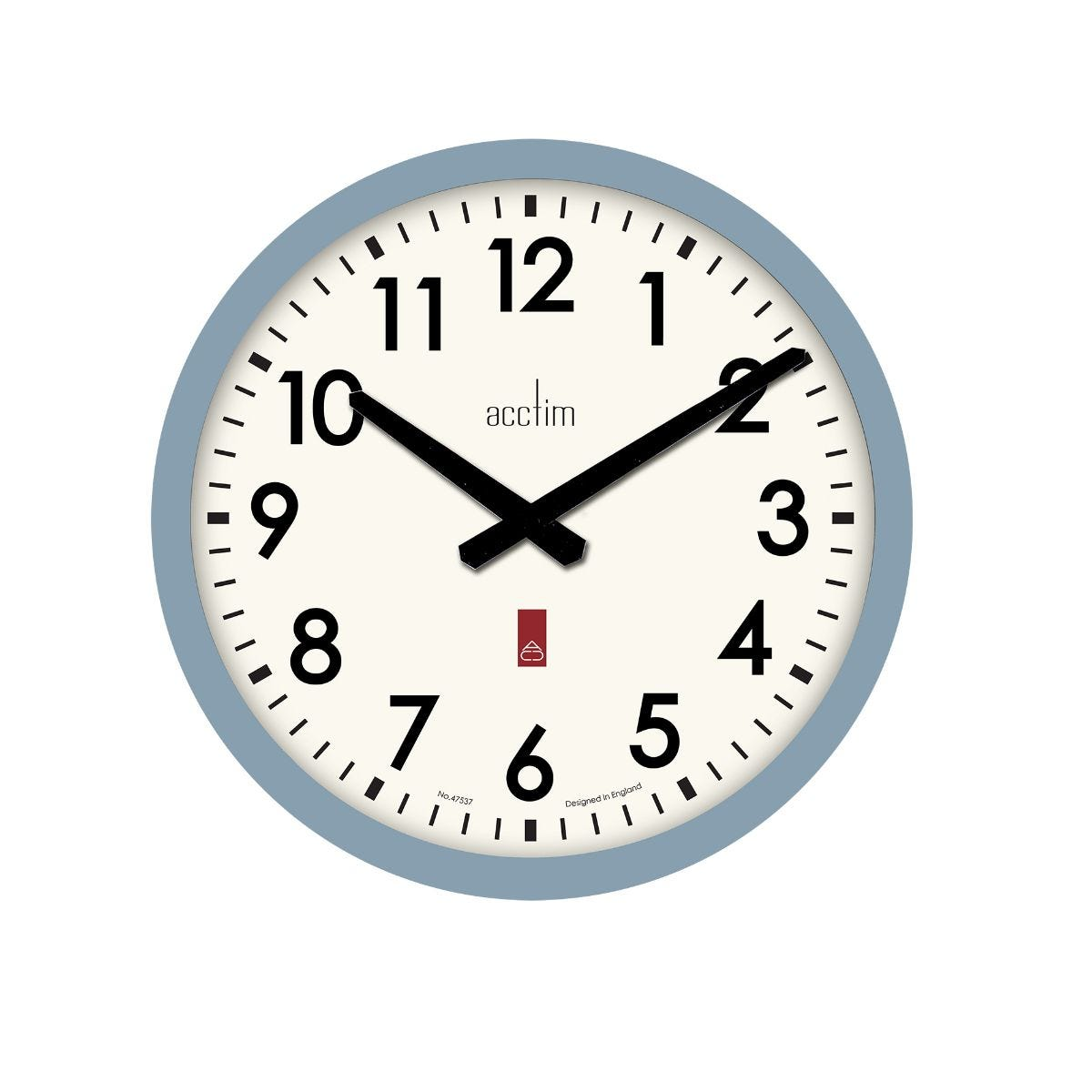 Image of Acctim Elswick Wall Clock, Blue