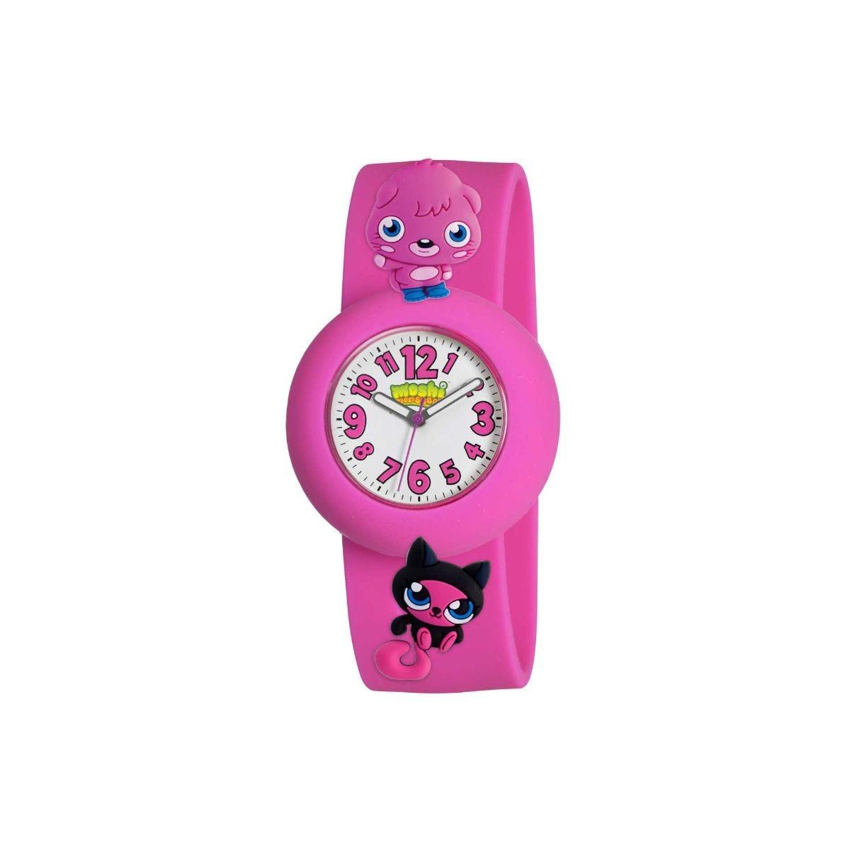 Moshi Analogue Monsters Watch, Pink