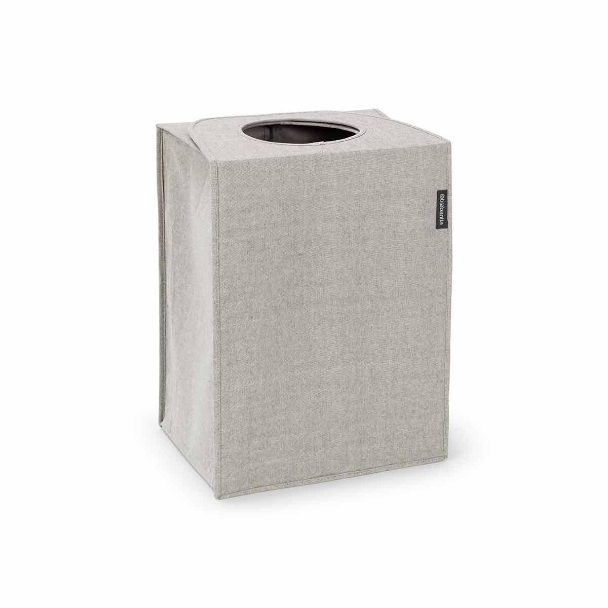 Brabantia Rectangular Laundry Bag 55 Litre, Grey