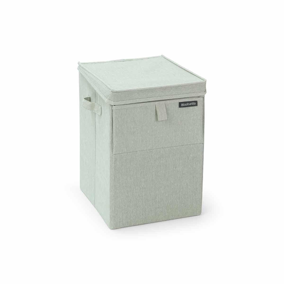 Brabantia Rectangular Laundry Box 35 Litre, Light Green