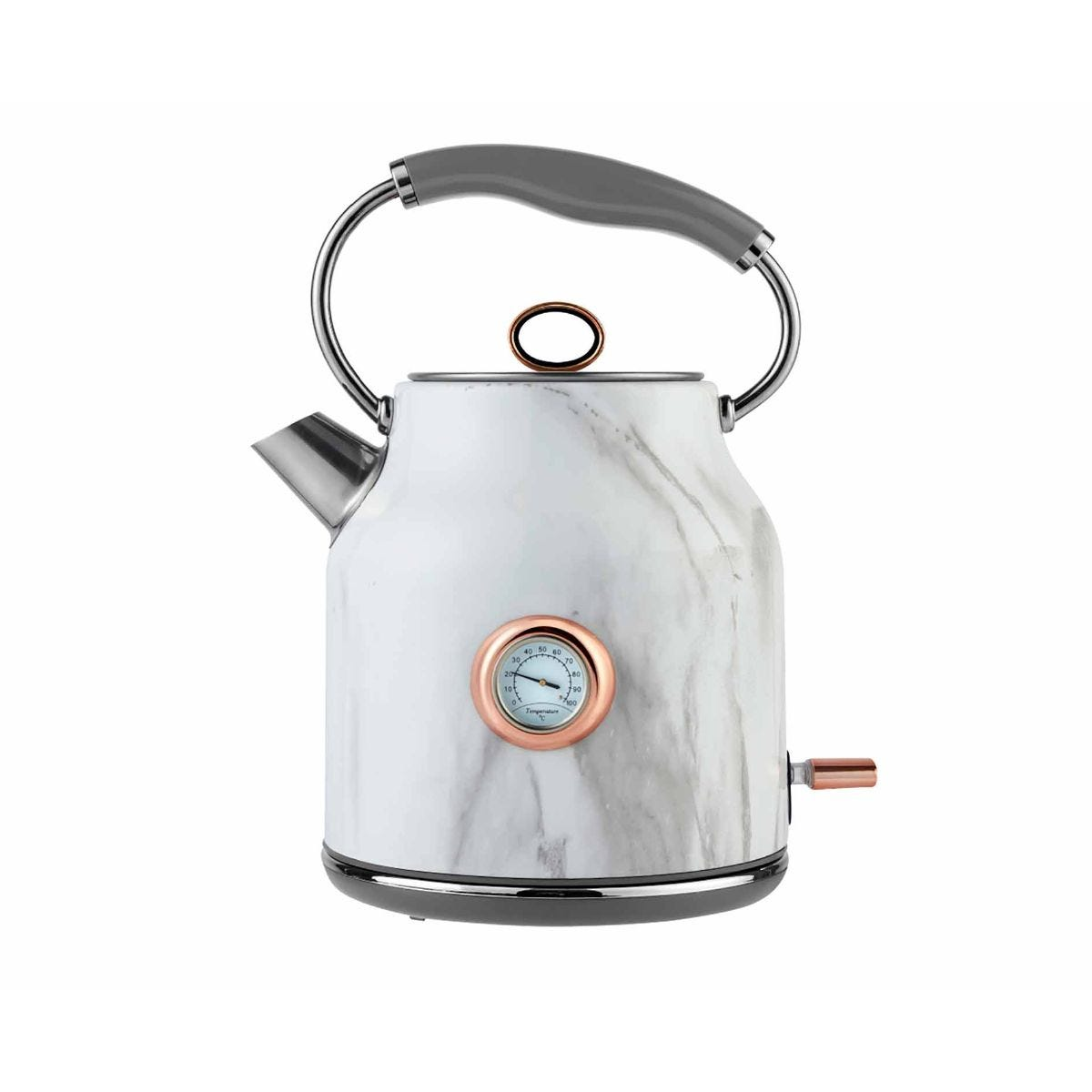 Tower 3KW Rose Gold Stainless Steel Kettle 1.7L, rose gold