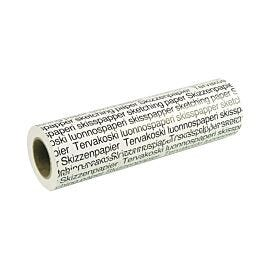 Tervakoski Translucent Ideal for Tracing and Drawing Roll of Sketching Paper