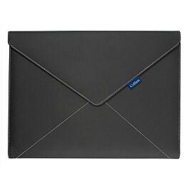 Collins Conference Ring Binder Folio Case Magnetic Flap Business Portfolio Black