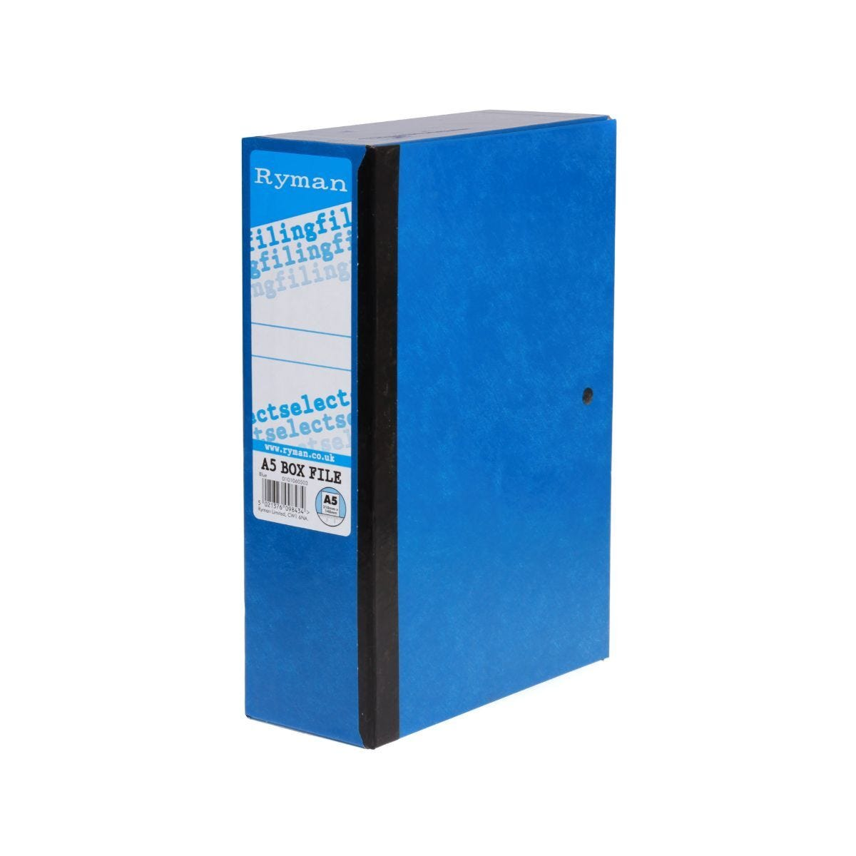 Ryman Selecta Box File A5 Blue