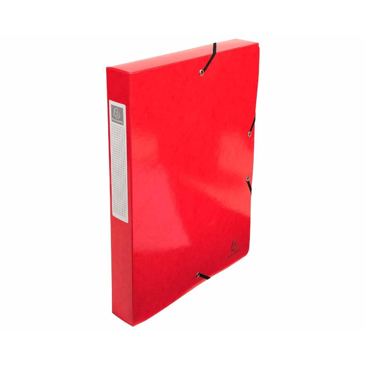 Exacompta Iderama Box File A4 Pack of 8 600gsm Red