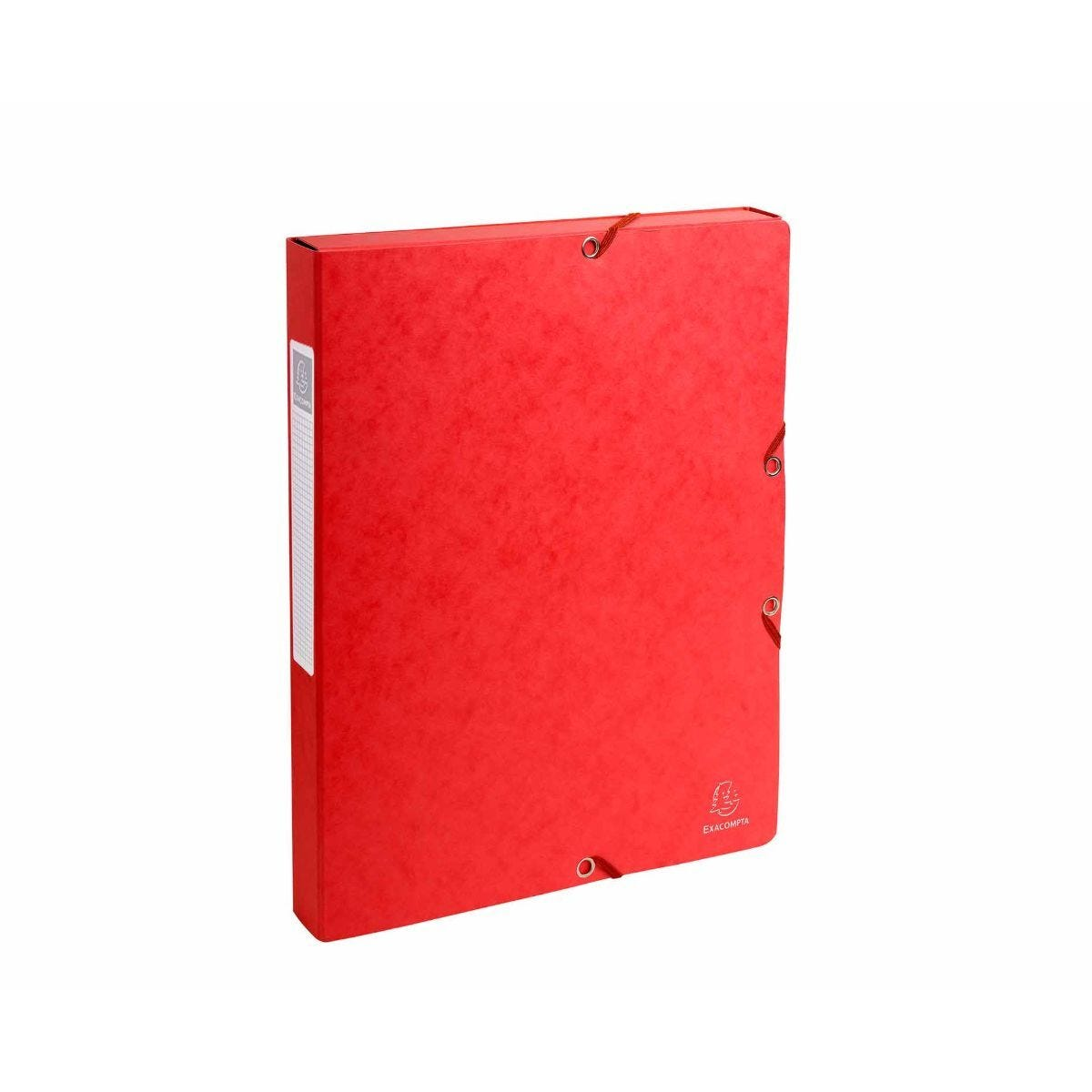 Exacompta Box File A4 25mm Pack of 8 Red