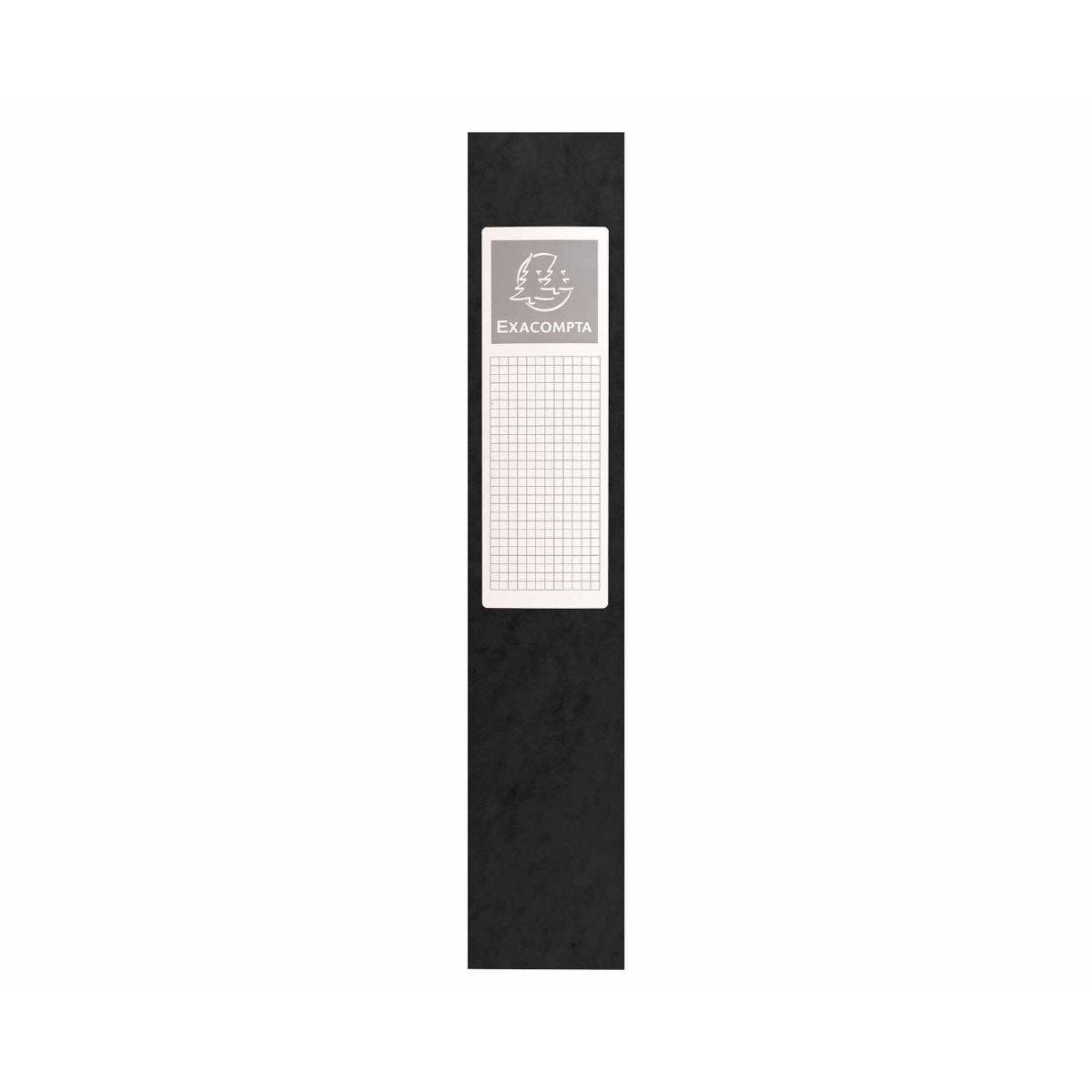 Exacompta Box File A4 60mm Pack of 8 Black
