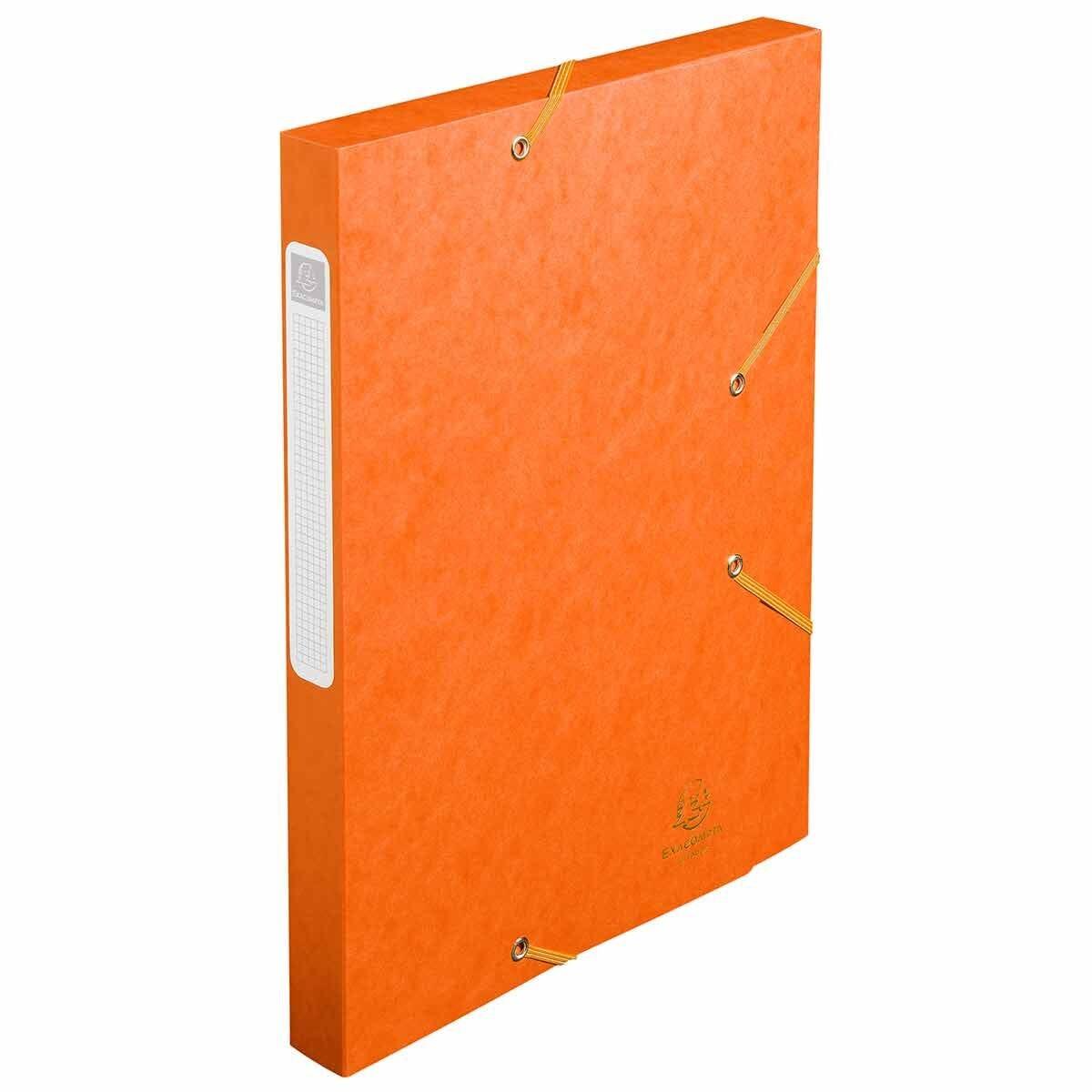 Exacompta Cartobox Box File 25mm 400g A4 Pack of 25