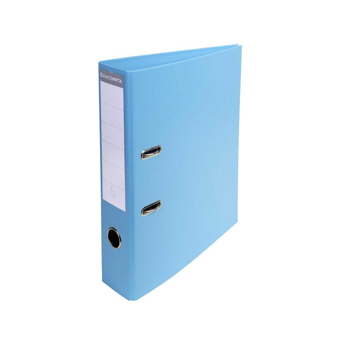 Exacompta Pastel Lever Arch File light blue