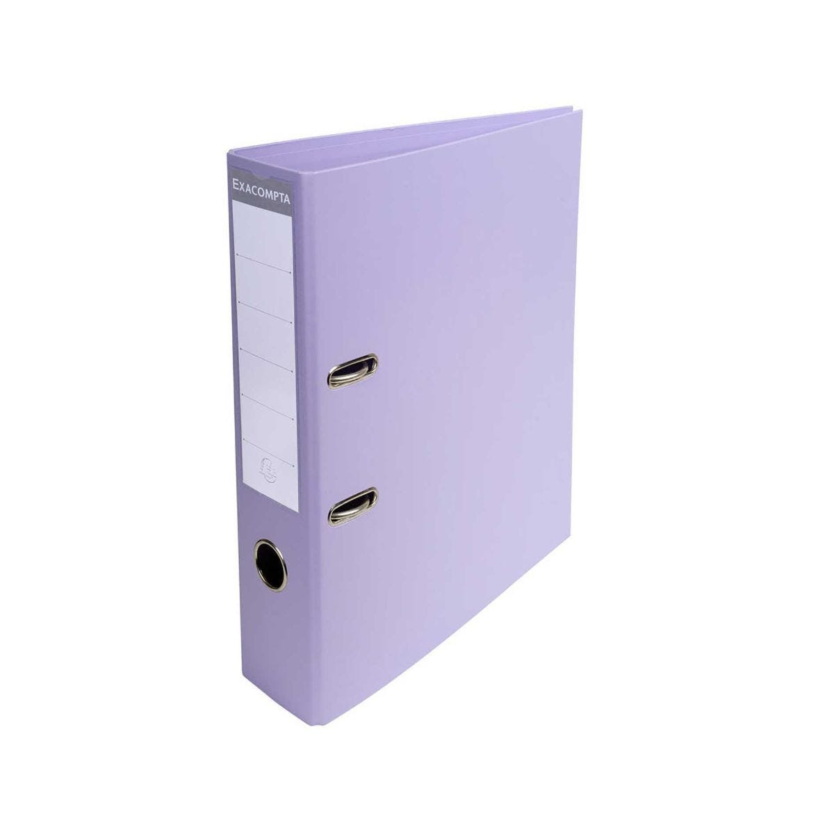 Exacompta Pastel Lever Arch File Lilac