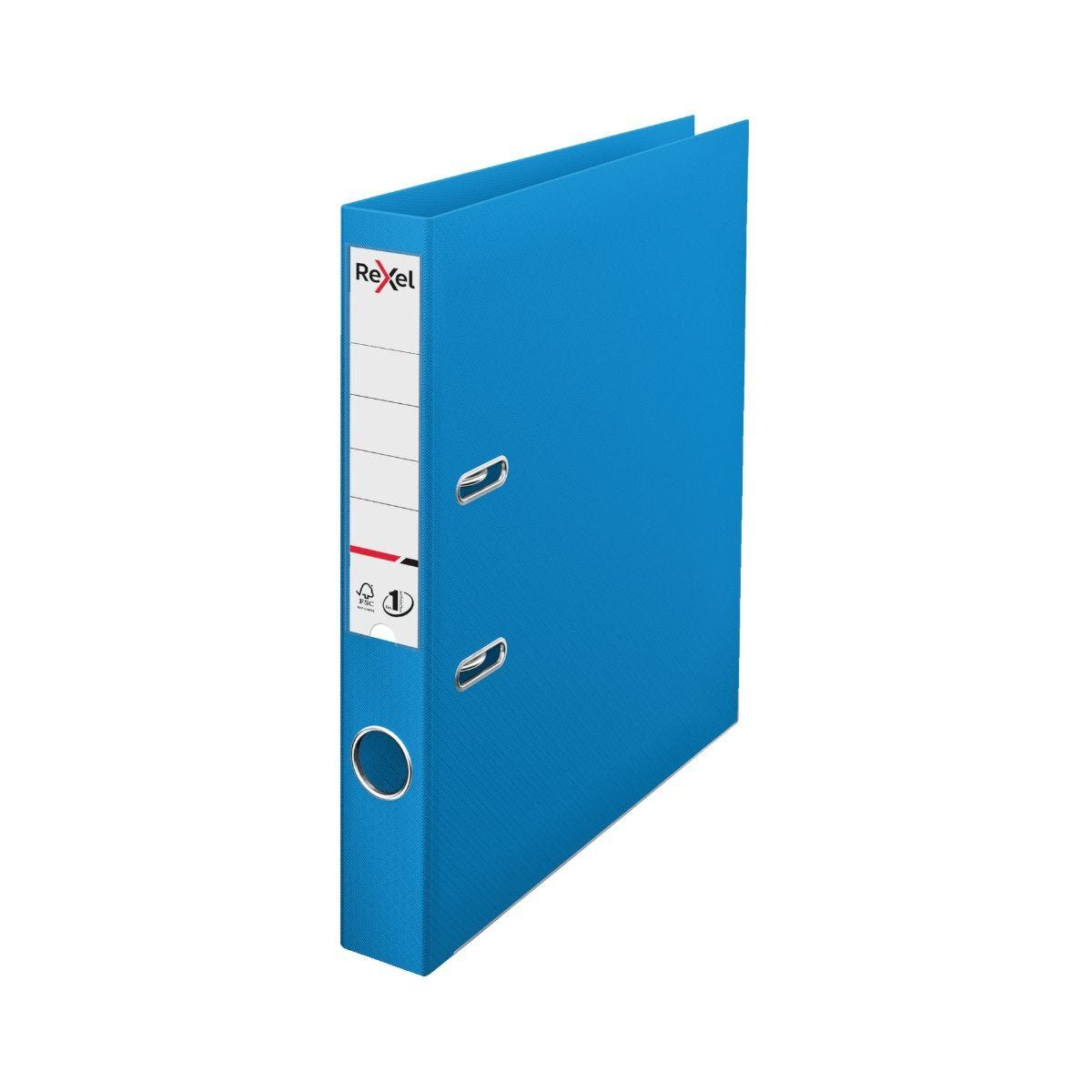 Rexel Choices Lever Arch File A4 PP 50mm Pack of 10 White