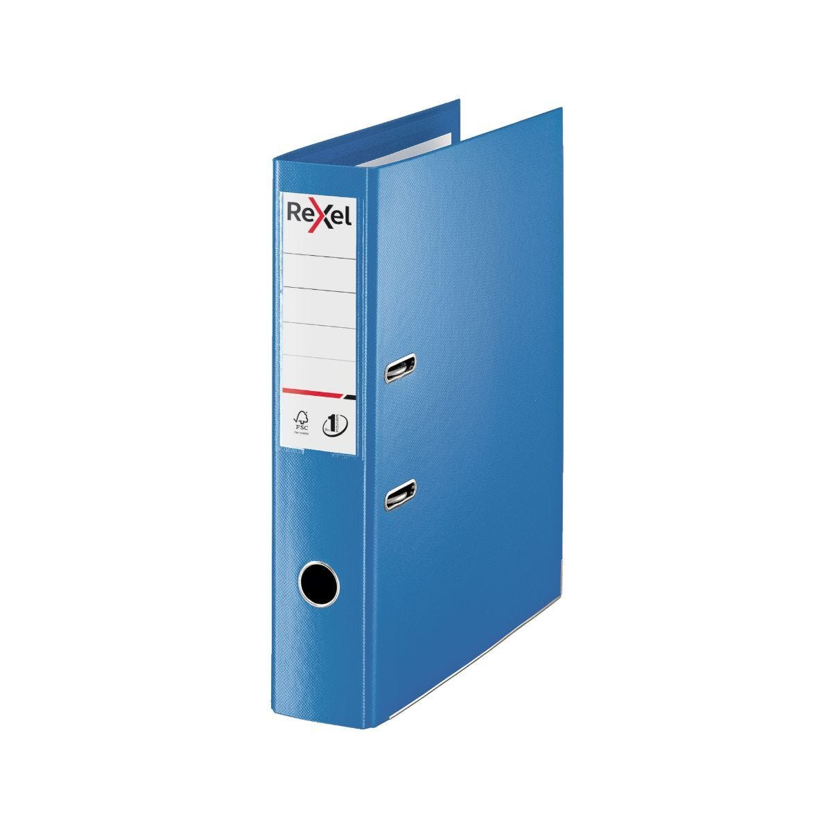 Rexel Choices Lever Arch File Foolscap PP 75mm Pack of 10 Blue