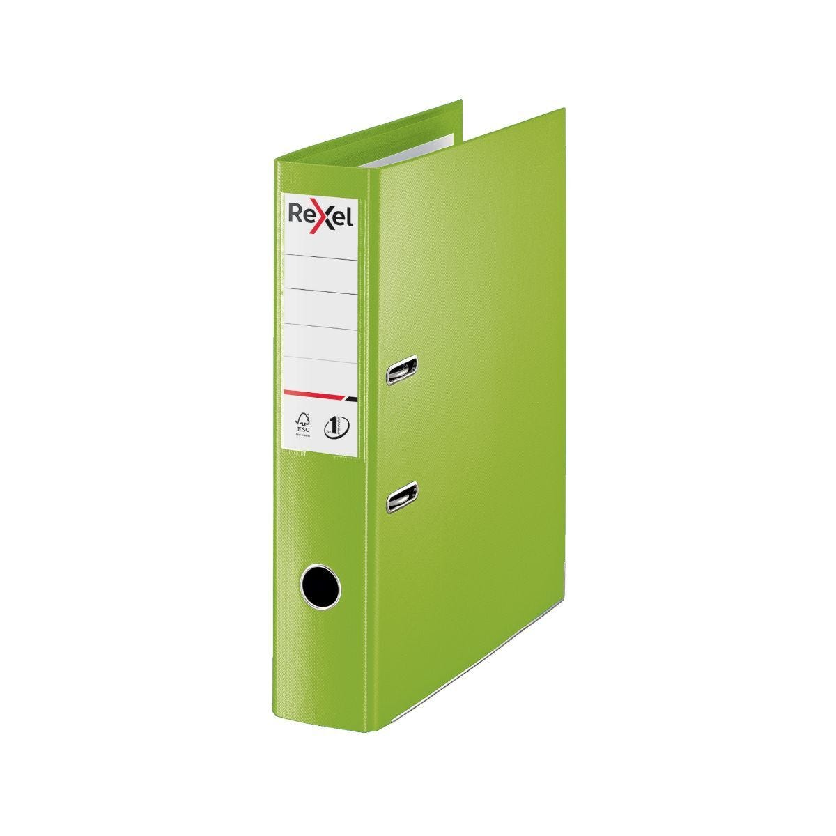 Rexel Choices Lever Arch File Foolscap PP 75mm Pack of 10 Green
