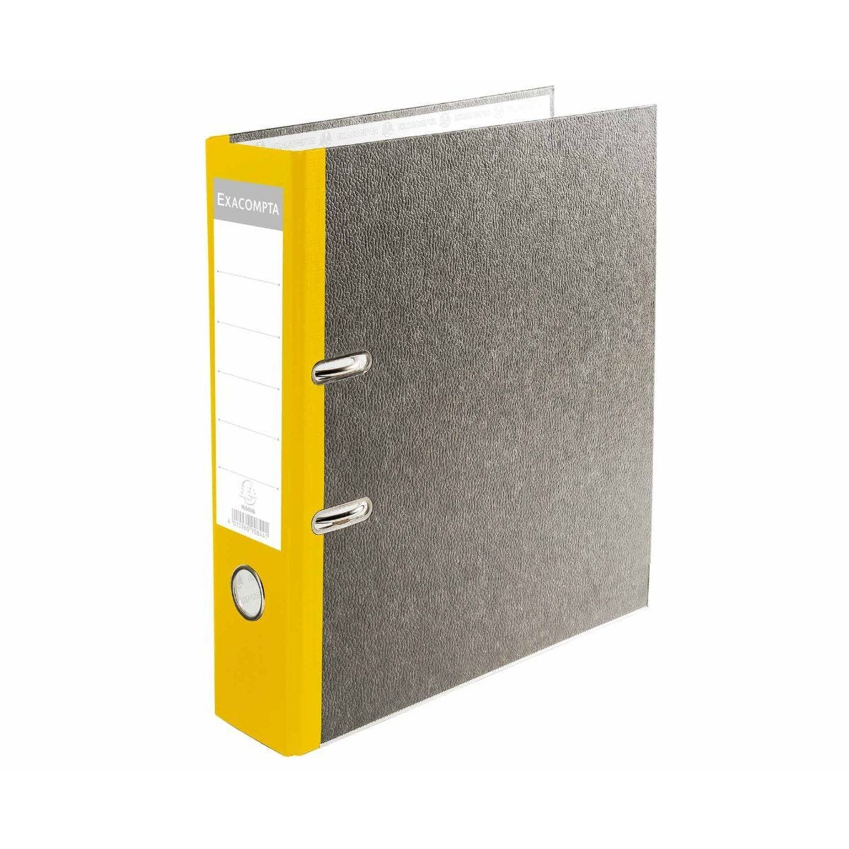 Exacompta PremTouch Lever Arch File A4 80mm Pack of 20 Yellow