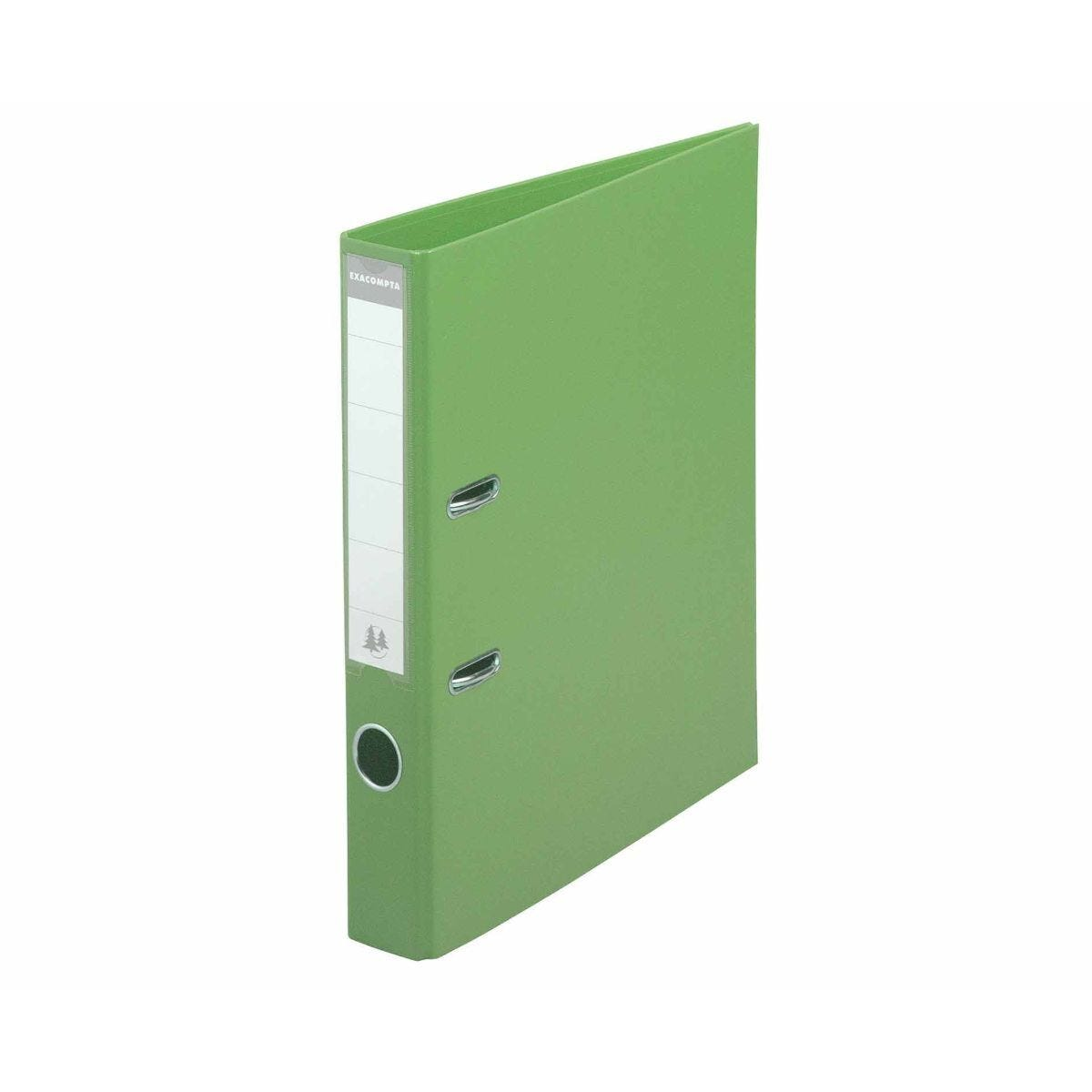 Exacompta PremTouch A4 Lever Arch File 50mm Pack of 10 Lime