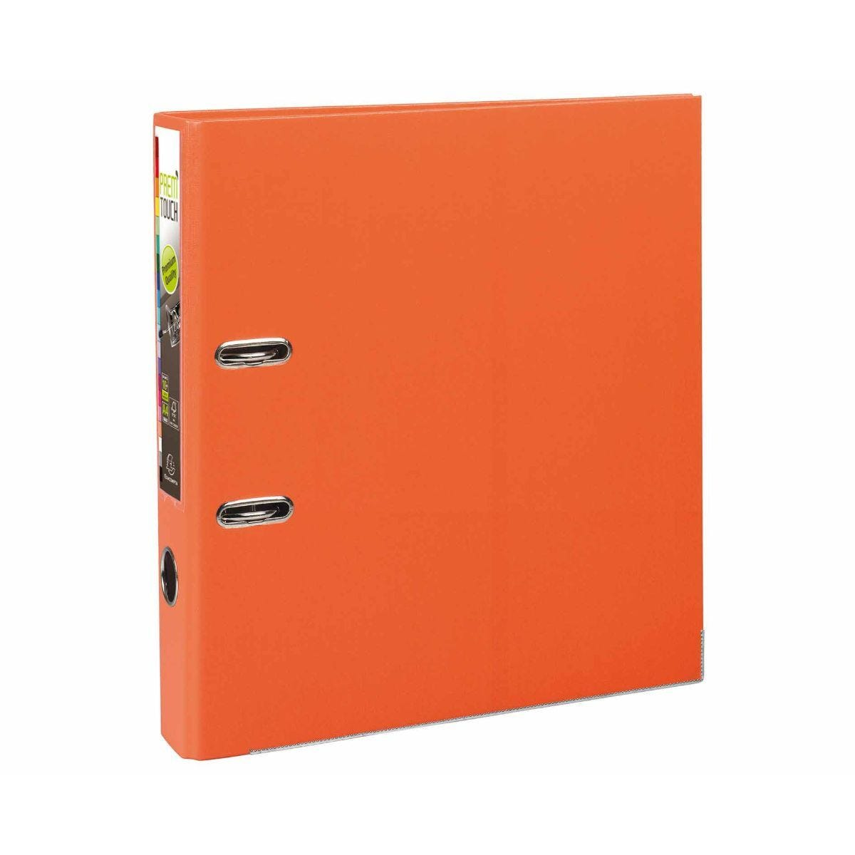 Exacompta PremTouch A4 Plus Lever Arch File 50mm Pack of 10 Orange