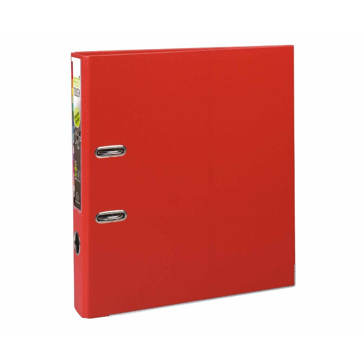 Exacompta PremTouch A4 Plus Lever Arch File 50mm Pack of 10 Red
