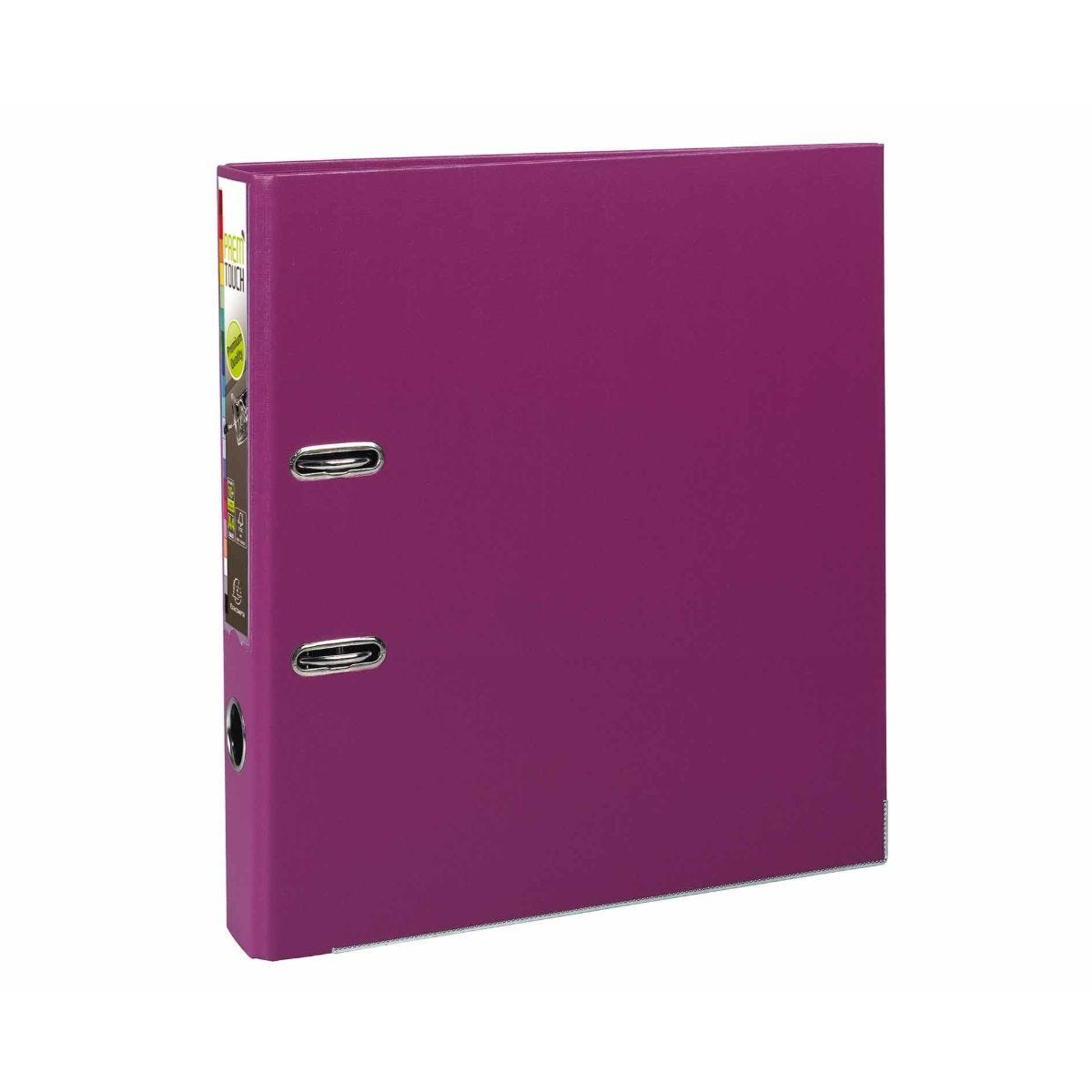 Exacompta PremTouch A4 Plus Lever Arch File 50mm Pack of 10 Fuchsia