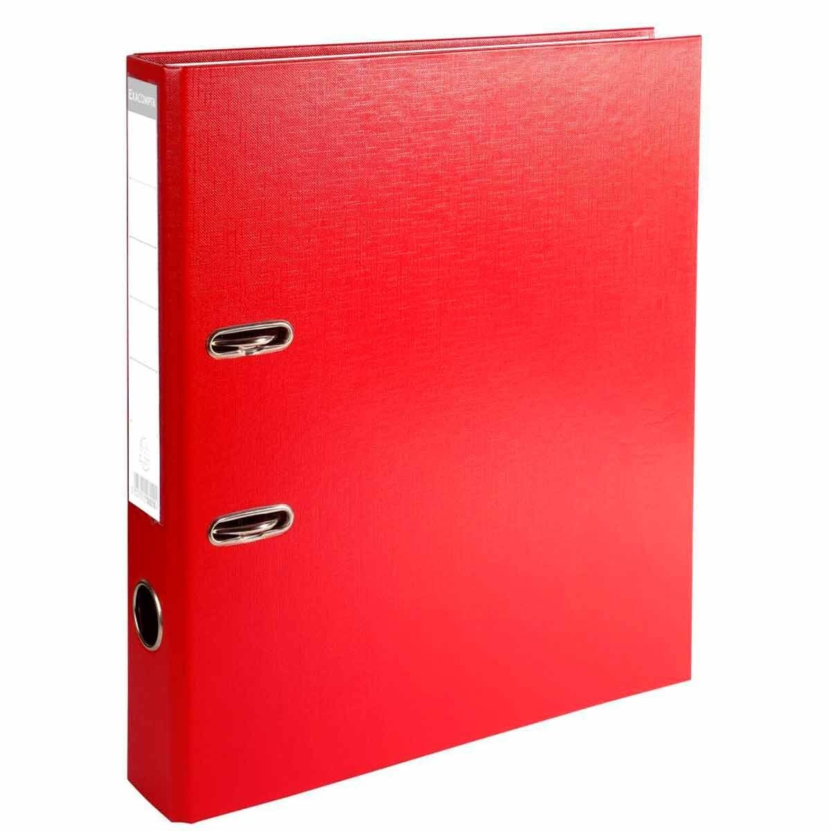 Exacompta Lever Arch File A4 PP 50mm Pack of 20 Assorted