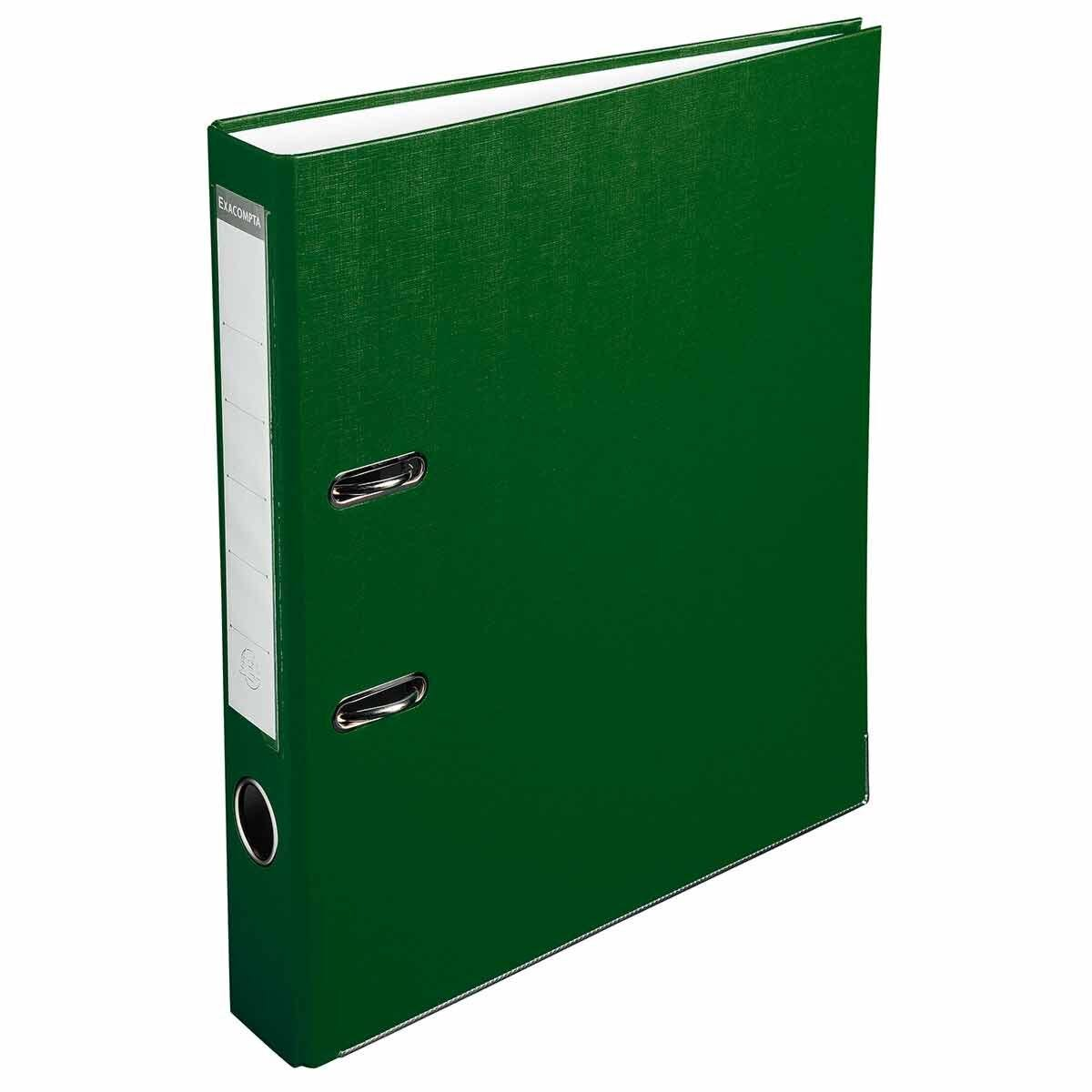 Exacompta Lever Arch File A4 PP 50mm Pack of 20 Green