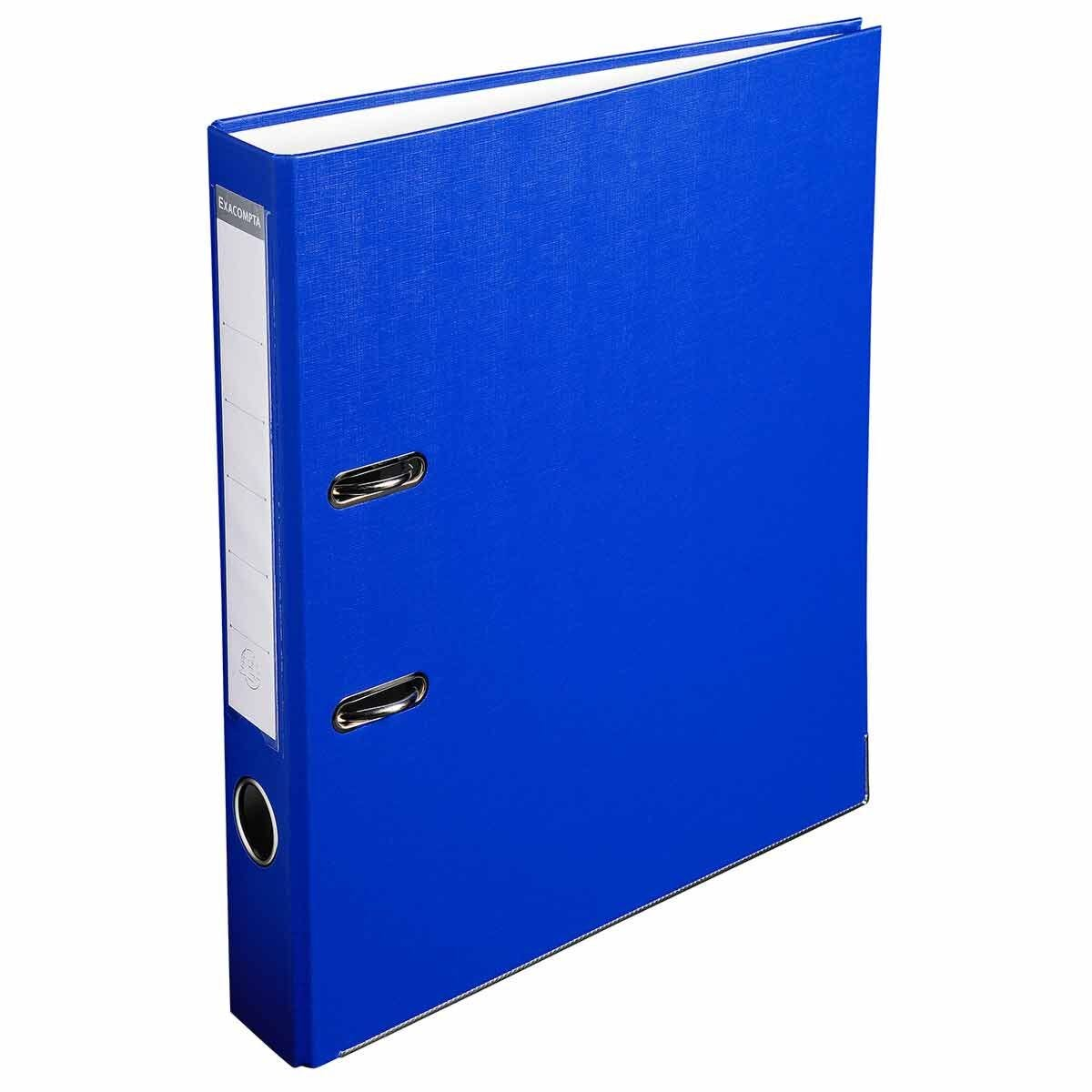 Exacompta Lever Arch File A4 PP 50mm Pack of 20 Blue