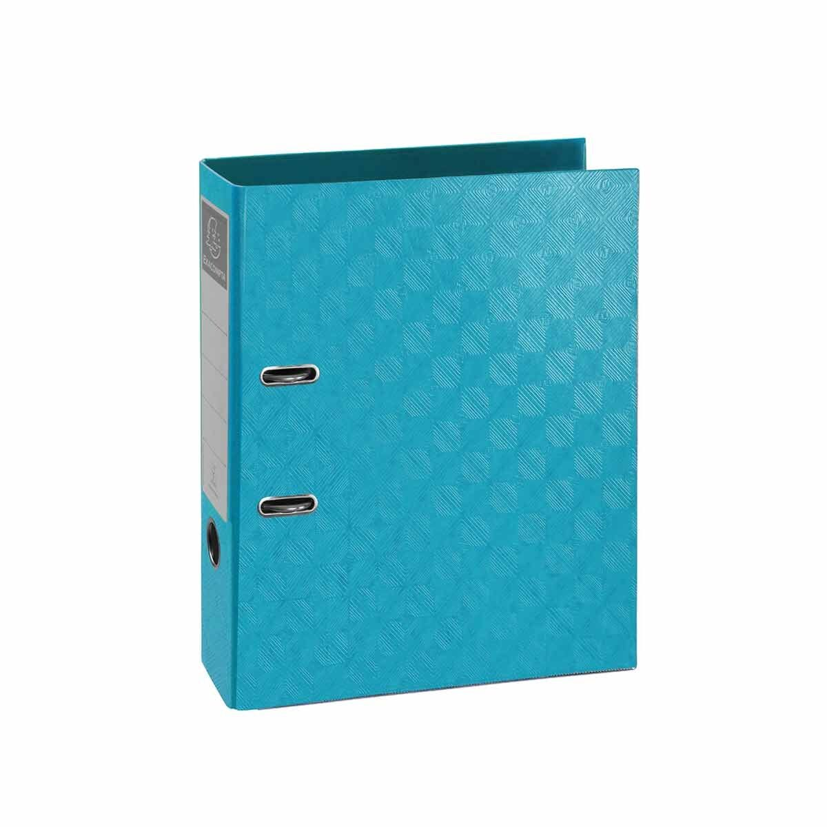 Exacompta 1928 PreTouch Lever Arch File A4 70mm Pack of 10 Turquoise