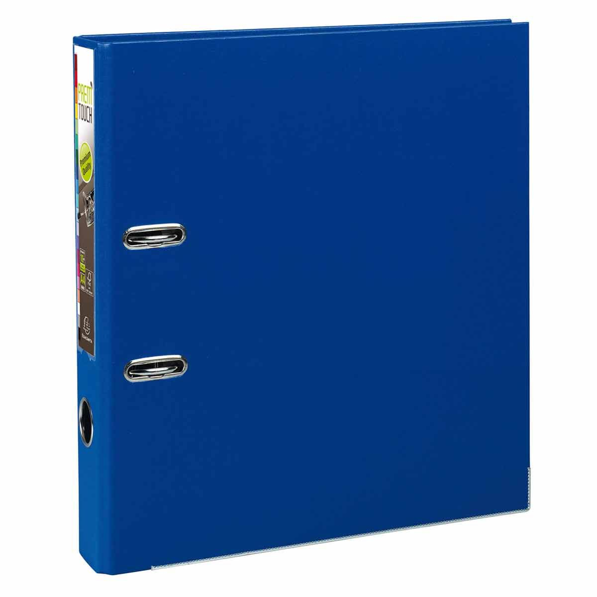Exacompta PremTouch Lever Arch File A4 Plus PP 50mm Pack of 10 Dark Blue