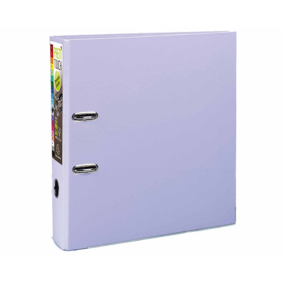 Exacompta PremTouch Lever Arch File A4 Plus Pack of 10 Lilac