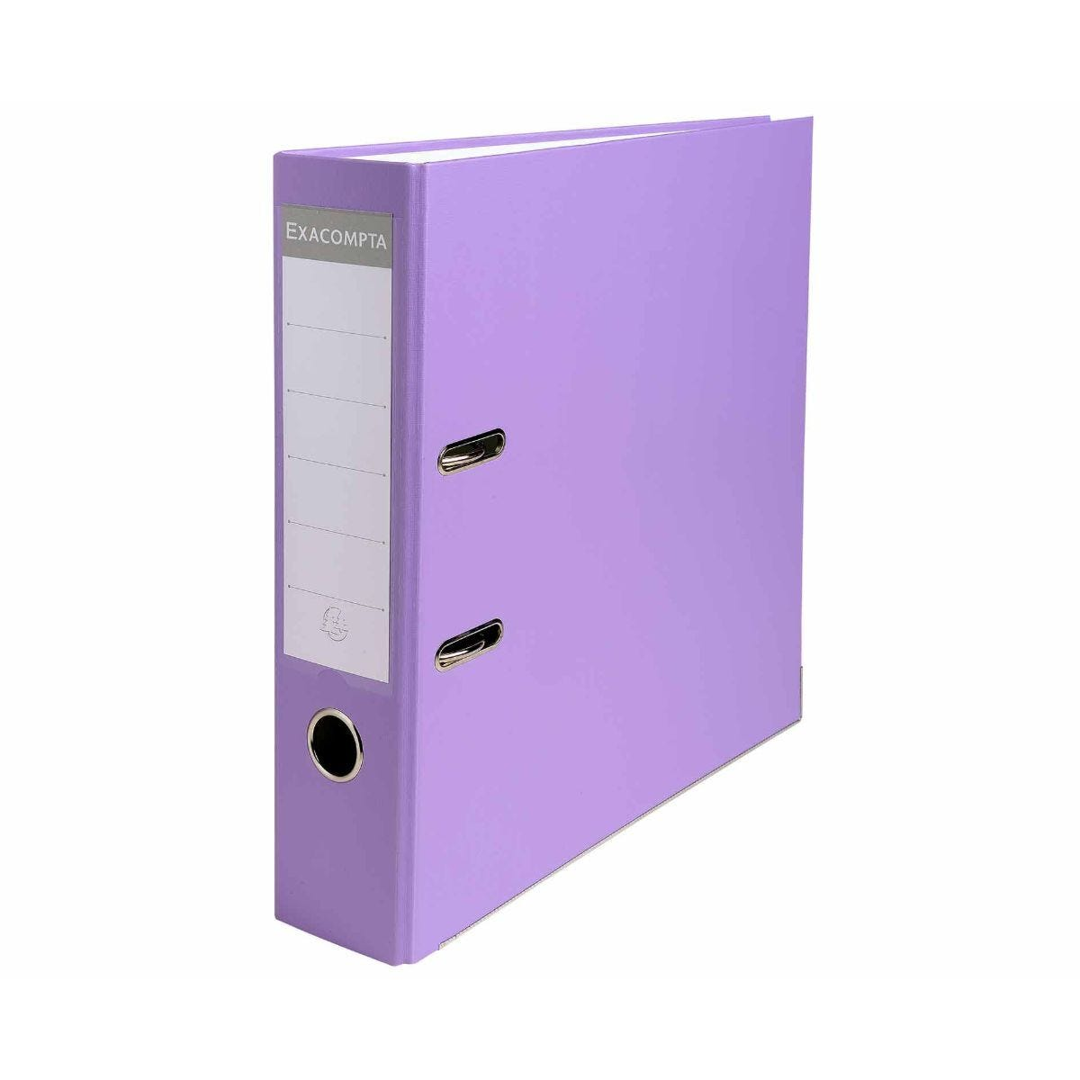 Exacompta Lever Arch File A4 Pack of 20 Lilac