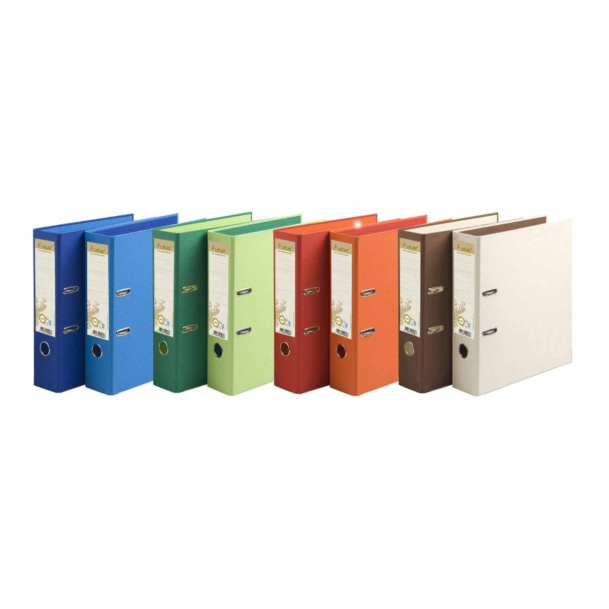 Exacompta Forever Lever Arch File A4 Pack of 10 Assorted