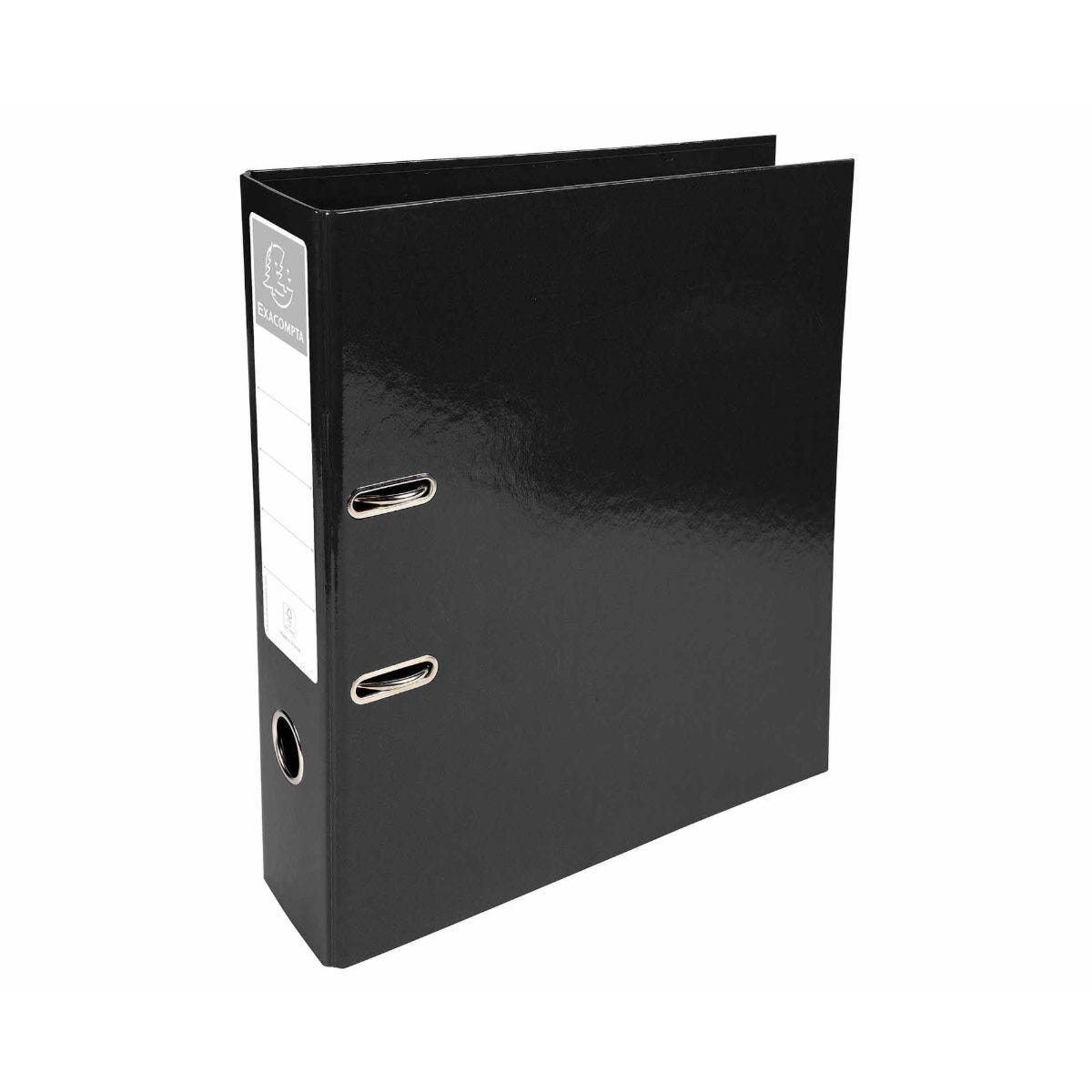 Exacompta Iderama PremTouch Lever Arch File A4 70mm Pack of 10 Black