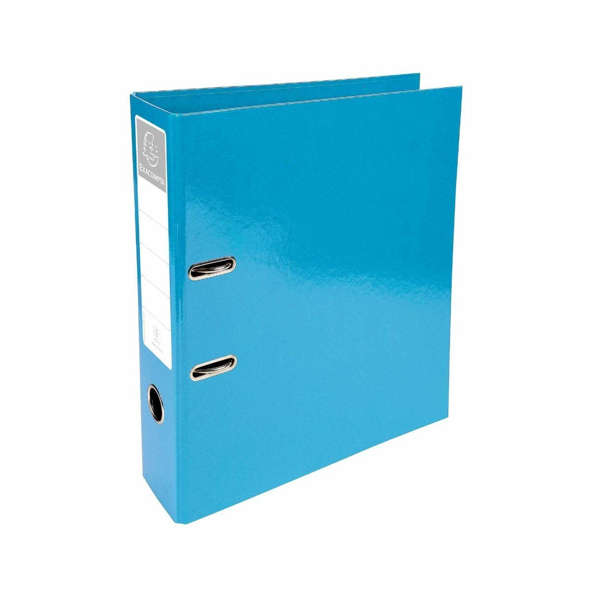 Exacompta Iderama PremTouch Lever Arch File A4 70mm Pack of 10 Light Blue