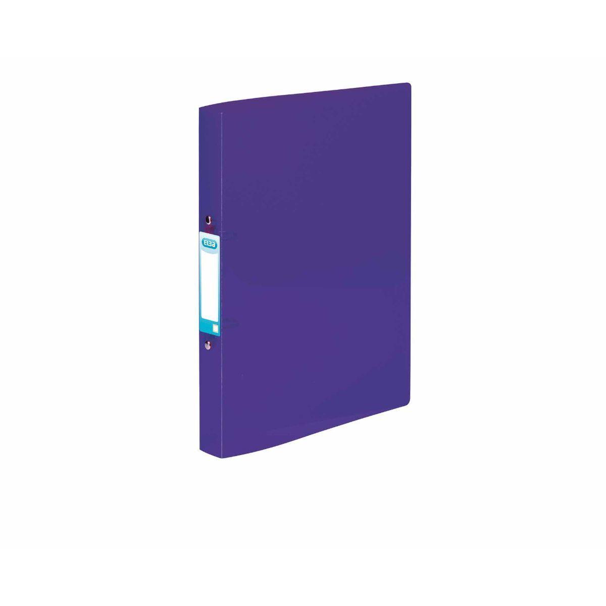 Elba Snap Ring Binder A4 Plus Purple